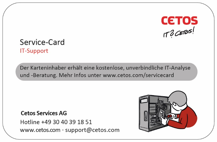 CETOS Sercive-Card
